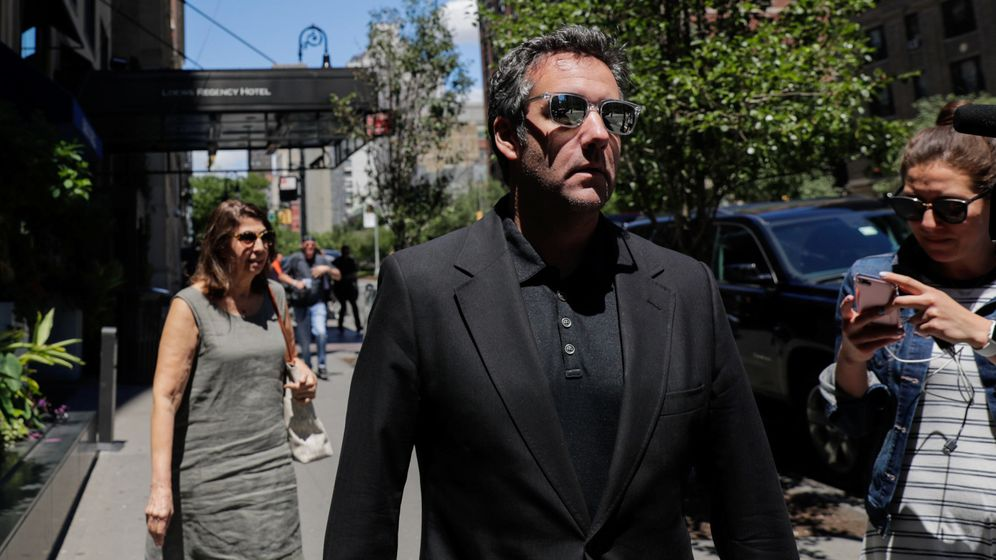 Foto: Michael Cohen, el abogado de Donald Trump. (EFE)