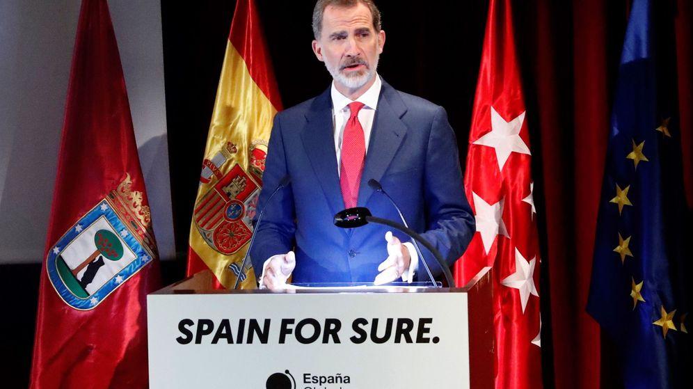 Foto: El rey Felipe VI, en un acto en Madrid. (EFE)