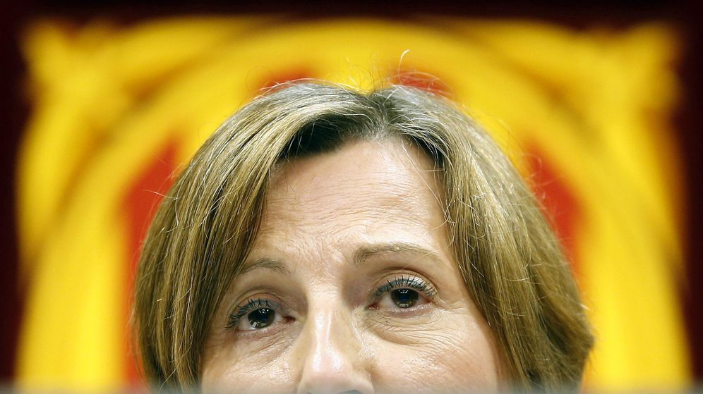Foto: La presidenta del Parlamento catalán, Carme Forcadell. (EFE)
