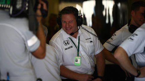 En McLaren cogen el toro por los cuernos y cambian fichas: manda Brown