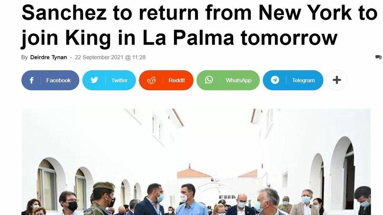 'Euroweekly News'. (Captura)