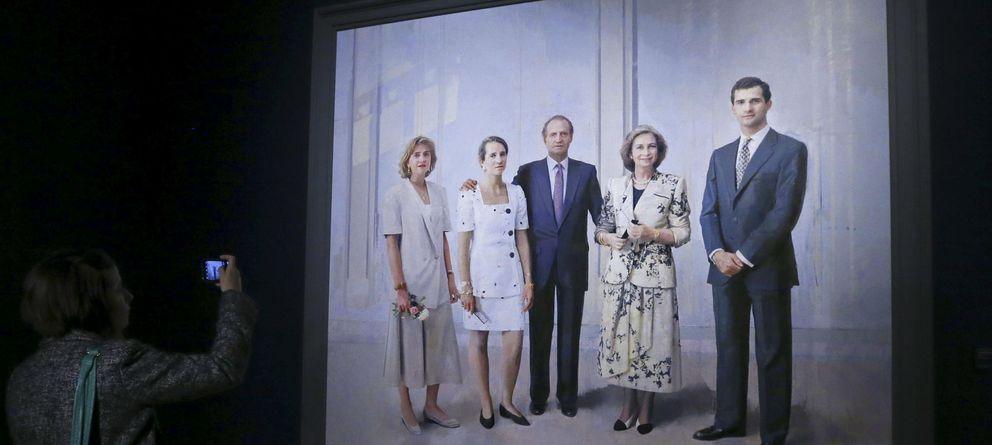desvelado por fin el cuadro de la familia real de antonio lpez efe