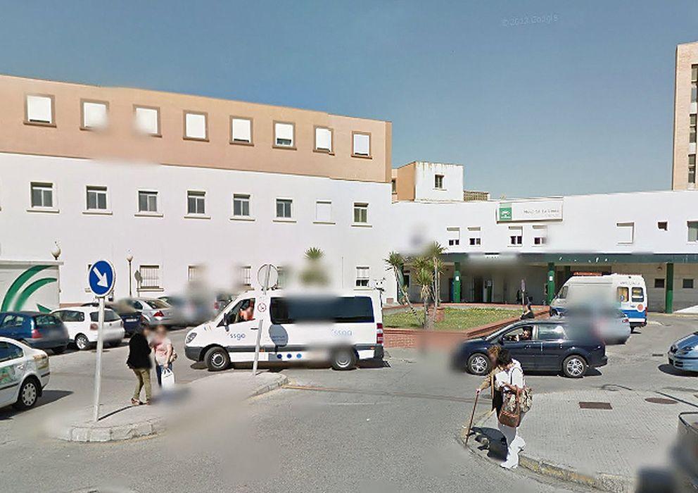 Foto: Hospital de la Línea de la Concepción en Cádiz, centro hospitalario donde falleció el hombre de origen alemán (EC)