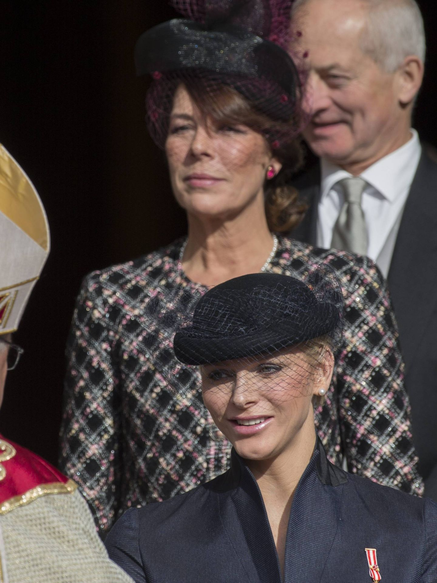 Carolina y Charlène, en 2012. (Cordon Press)
