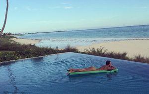 Irina Shayk también sabe disfrutar de las vacaciones sin Ronaldo