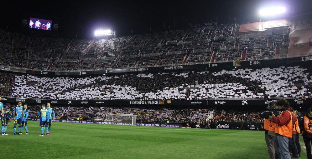 Foto: Las gradas de Mestalla, presumiblemente, no se llenarán en el regreso del Valencia a la Champions League
