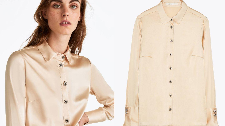 Triunfarás con una blusa como esta, también de Uterqüe . (Cortesía)