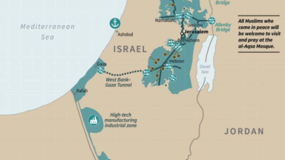 Un túnel de 35km y una capital en los suburbios: las locuras del Plan de Paz