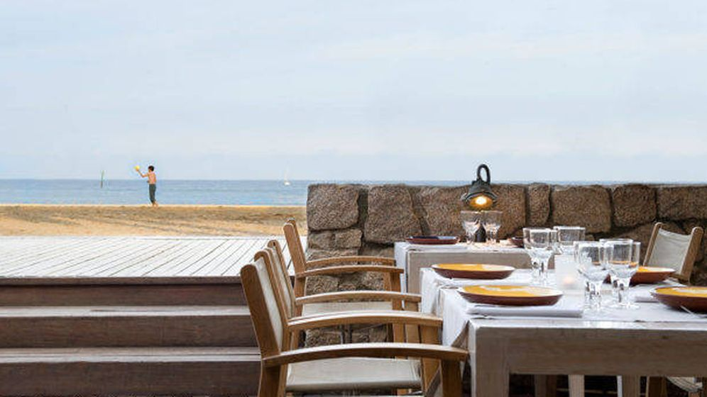 Foto: Restaurante Agua, a pie de playa, cerca del Puerto Olímpico de Barcelona. (Cortesía)