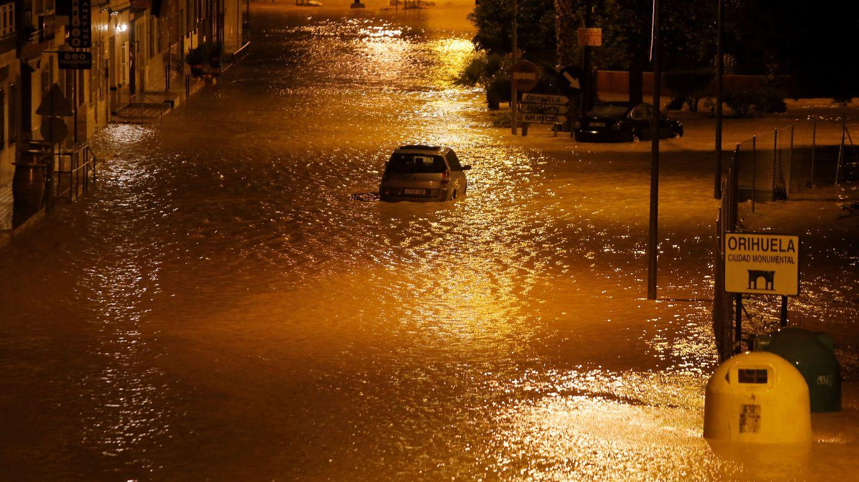 Calles inundadas en Murcia esta madrugada (Reuters)