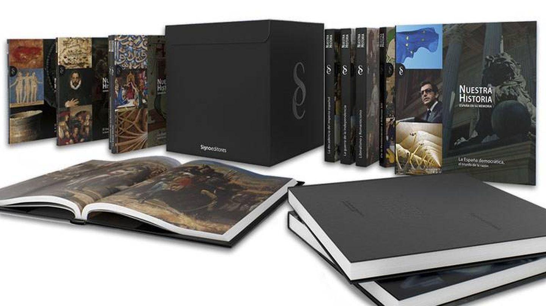 Una de las colecciones de Signo Editores valorada en 1.750 euros.