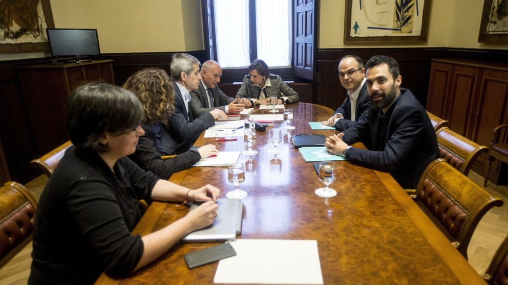 El TSJC aplaza el juicio a la Mesa del Parlament de Forcadell por el 1-O