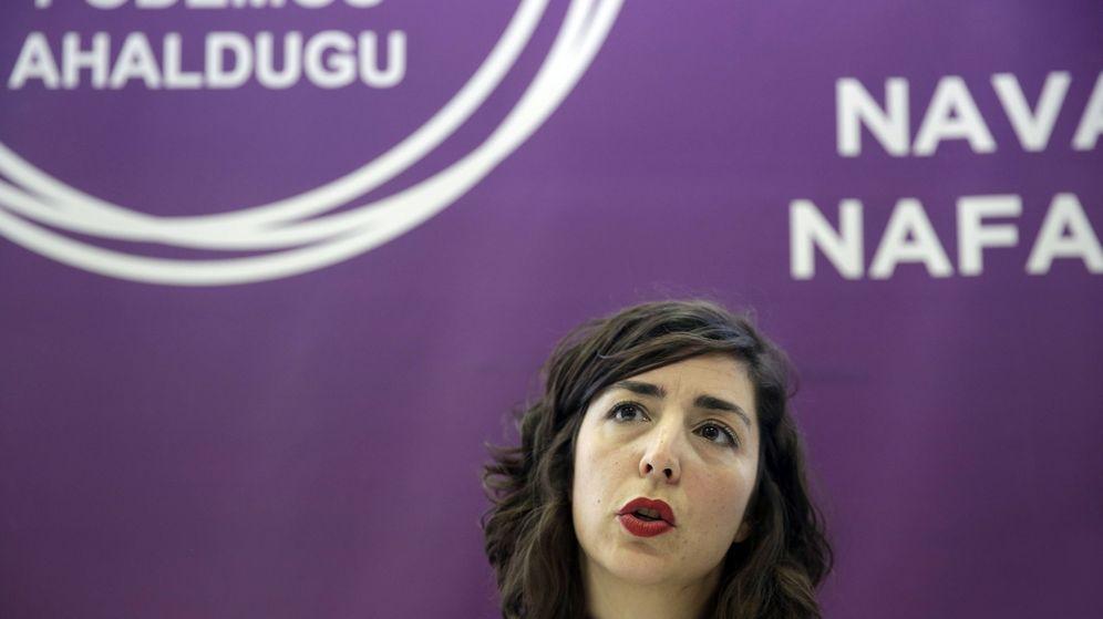 Foto: La hasta ahora secretaria general de Podemos Navarra, Laura Pérez, abandonará la portavocía del grupo parlamentario autonómico. (EFE)