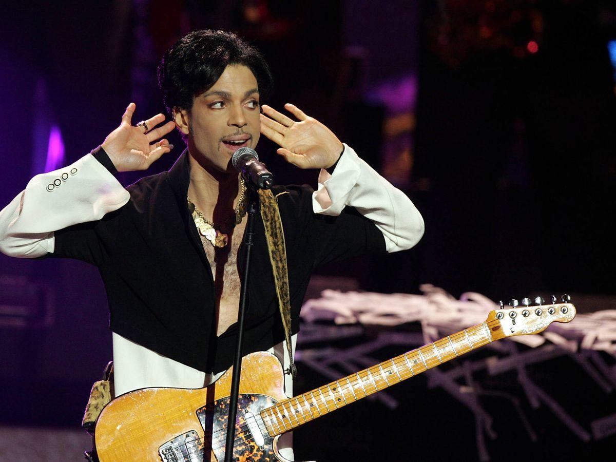 Foto:  El cantante Prince, fallecido hace cinco años. (Getty)