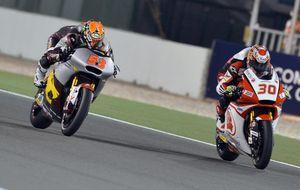 Tito Rabat repite 'pole' en el GP de las Américas por delante de Zarco