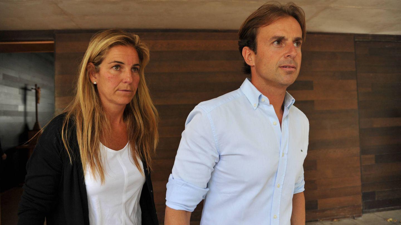 Arantxa Sánchez Vicario y Josep Santacana. (Getty)