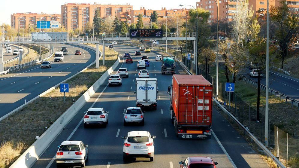 Foto: Salida de Madrid por la carretera de Valencia A-3. (EFE)