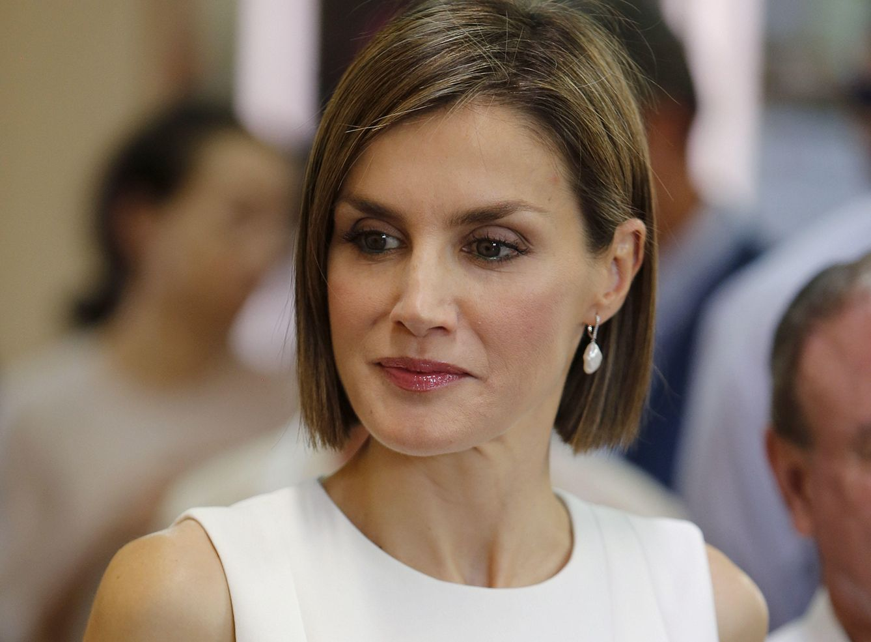 Foto: La Reina durante su visita a Comayagua