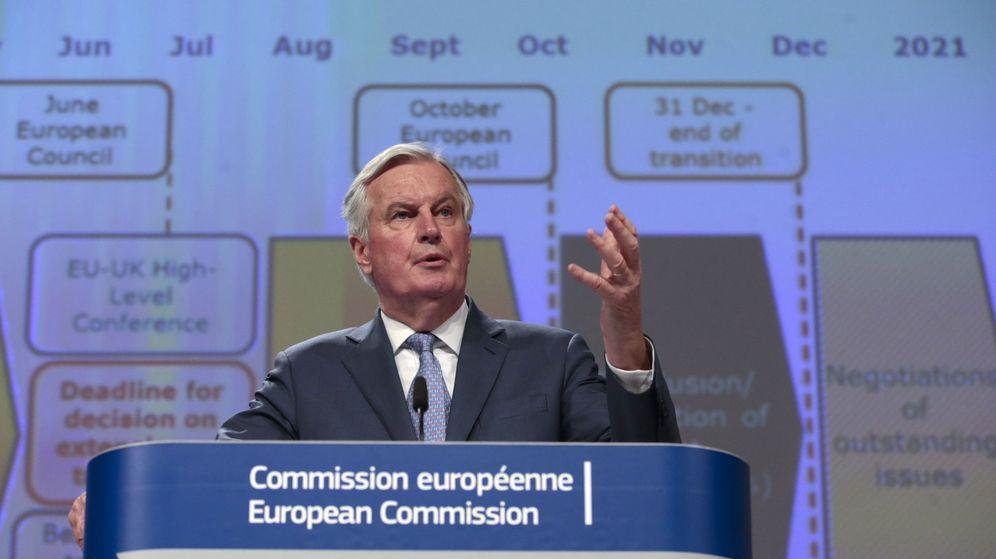 Foto: El negociador para el Brexit de la UE, Michel Barnier. (EFE)