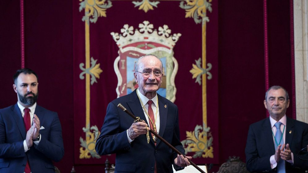 Foto: Francisco de la Torre, en junio de 2019, el día que su toma de posesión (EFE).