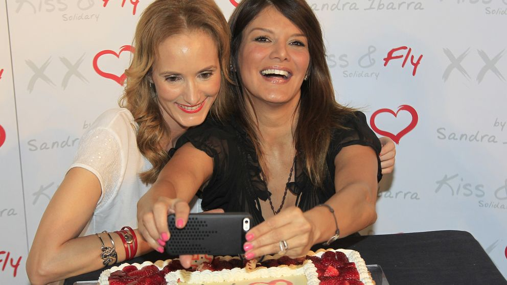 Sandra Ibarra celebra su 40 cumpleaños