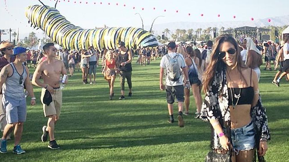 Instagram - Alicia Sanz, la actriz de 'Cuéntame...' disfruta en Coachella