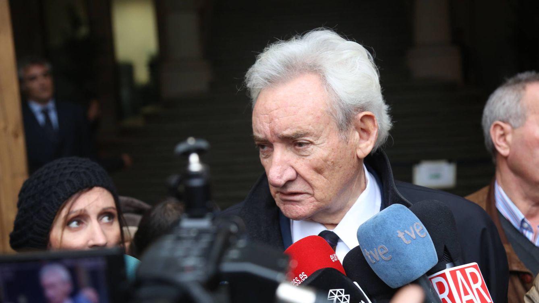 Foto: Luis del Olmo a su salida de la Audiencia Provincial (Gtres)