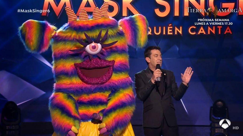 'Monstruita', en 'Mask Singer'. (Atresmedia Televisión)