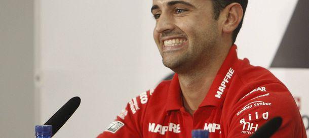 Foto: Héctor Barberá, detenido por conducir sin el permiso en regla.