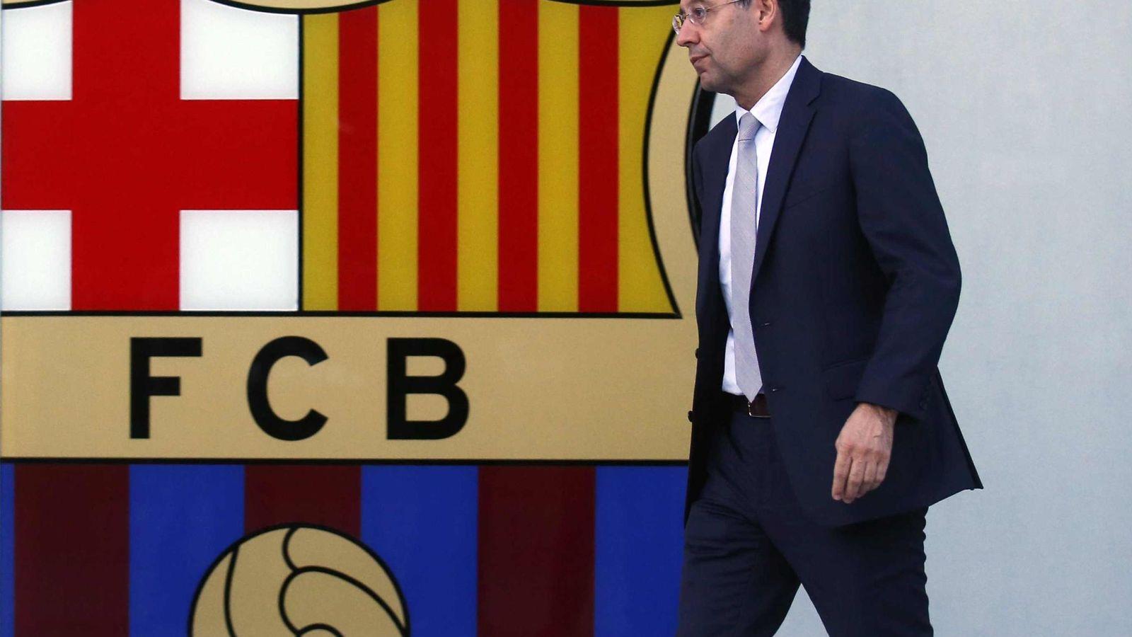 Foto: Josep María Bartomeu echa la culpa del fichaje de Neymar a Sandro Rosell y a Tito Vilanova.