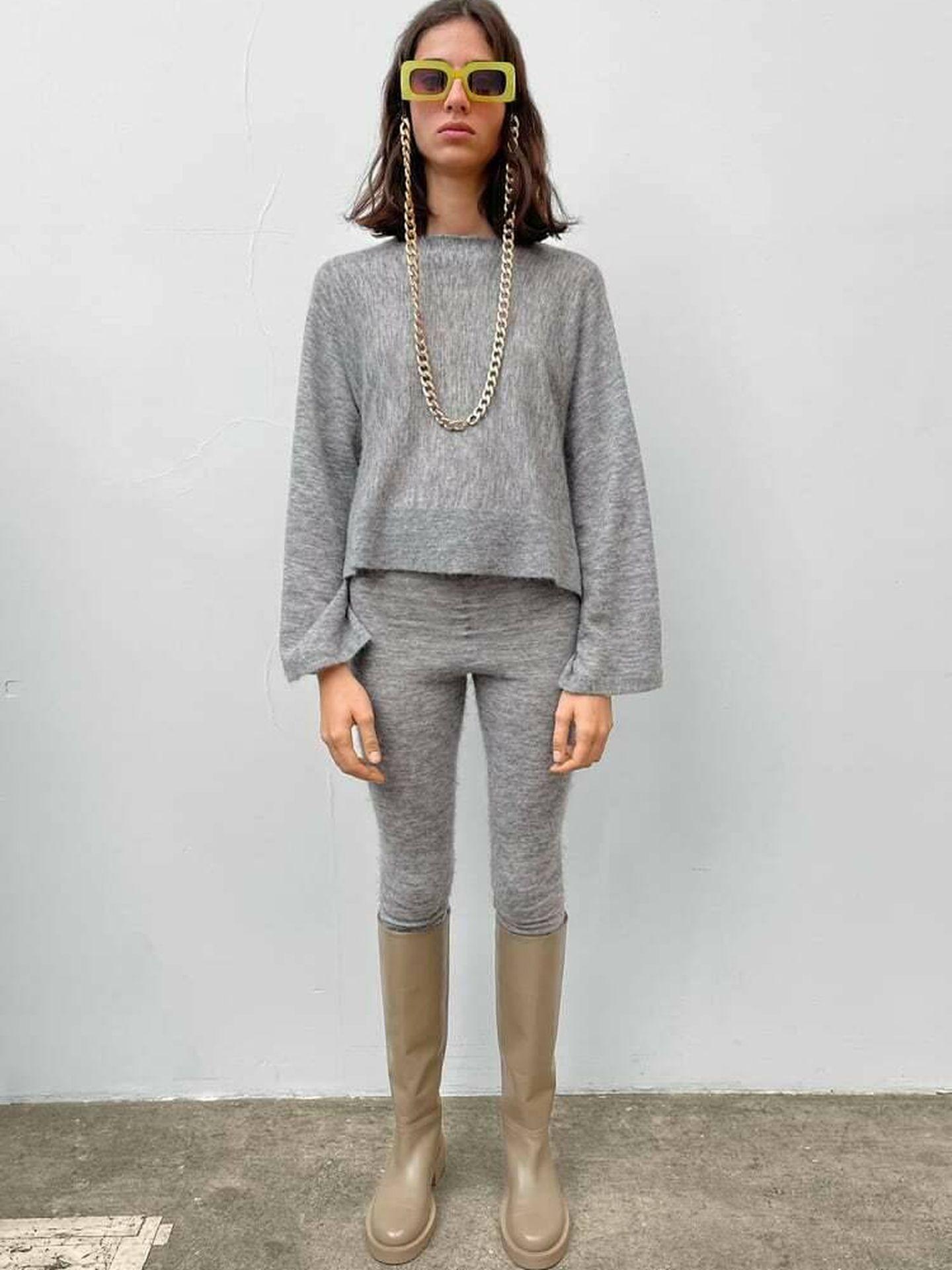 El nuevo look de punto de Zara. (Cortesía)