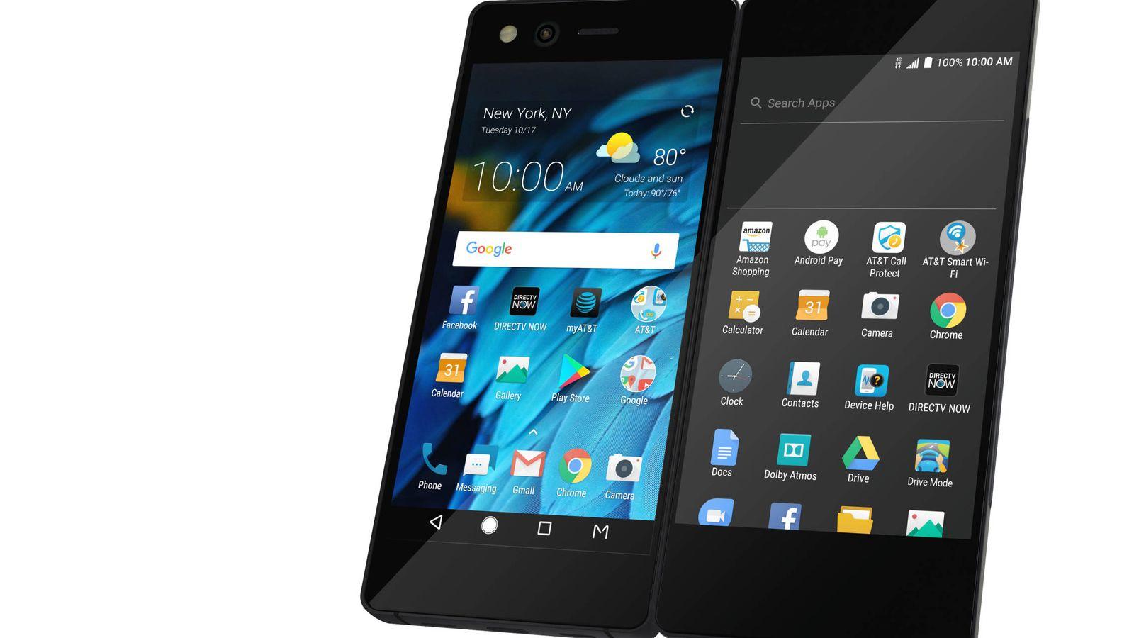 2ab5cded0ae Móviles chinos: El móvil más marciano del año: así es el ZTE Axon M, dos  pantallas y plegable