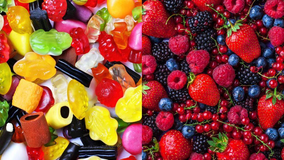 Foto: El sabor de la fruta fruta no está presente en las golosinas