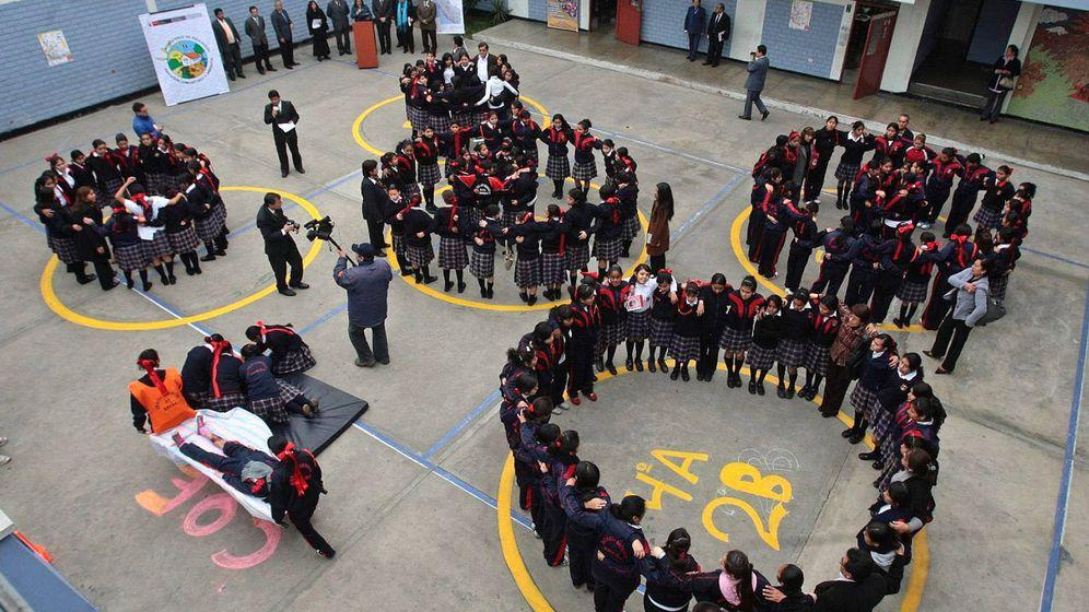 Foto: Un círculo sin fin. (EFE/Juan Carlos Guzmán)