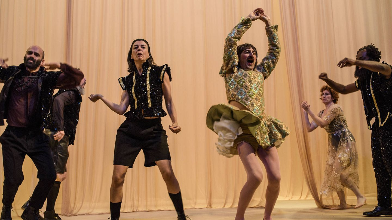 'Othello', Teatro de La Abadía. (Foto: Estrella Melero)