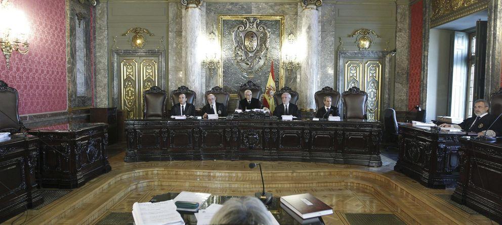 Foto: El Supremo cuando rebajó la pena a Matas