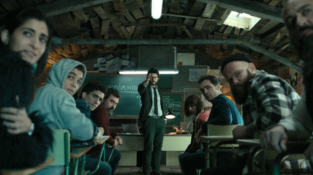 Foto: 'La casa de papel', la gran apuesta de Antena 3 en ficción.