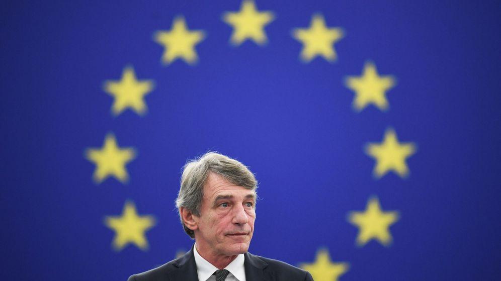 Foto: El presidente del Parlamento Europeo, David Sassoli. (EFE)