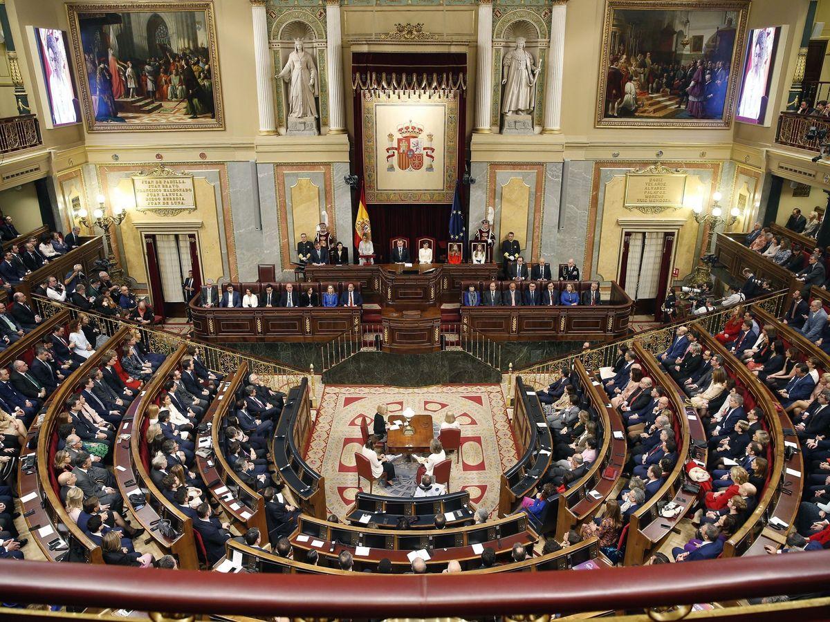 Foto: Vista del Congreso de los Diputados. (EFE)