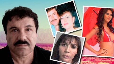 El Chapo Guzmán, un 'seductor' con cuatro esposas y diez hijos