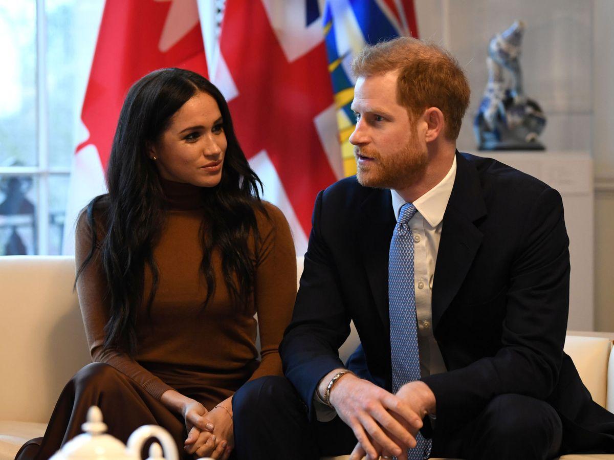 Foto: Meghan y Harry, en una imagen de archivo. (Reuters)
