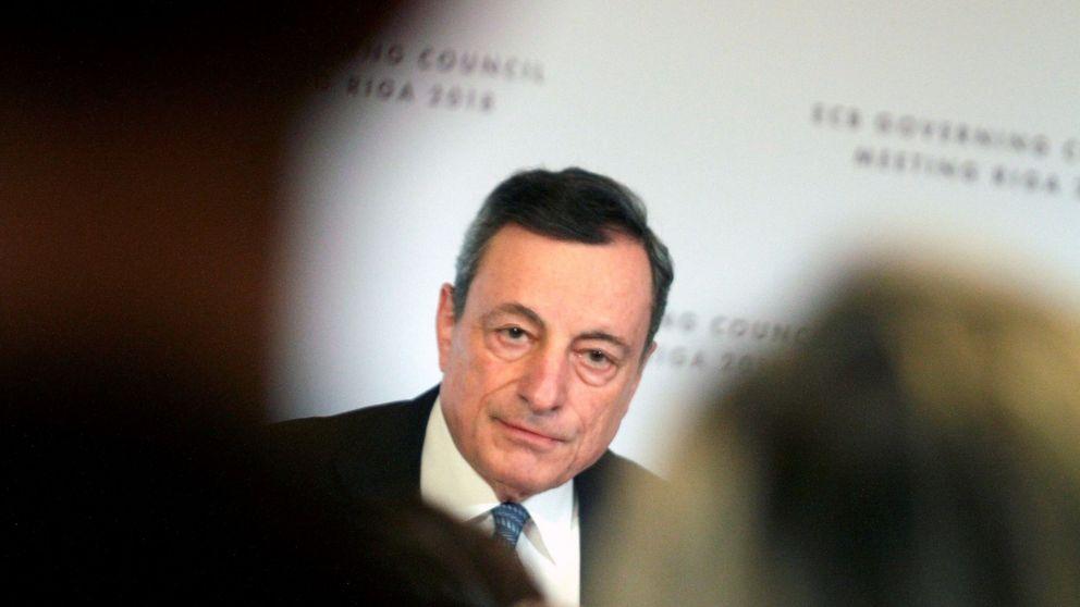 Draghi ratifica el fin del dinero gratis si la guerra comercial no lo impide