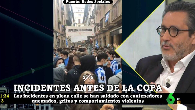 Julio Mayol, en 'La Sexta noche'. (Atresmedia).