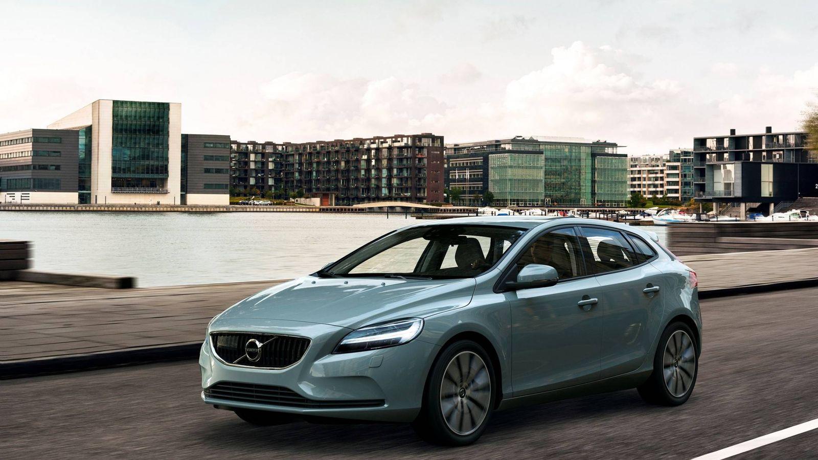 Foto: Volvo V40 con su nuevo frontal