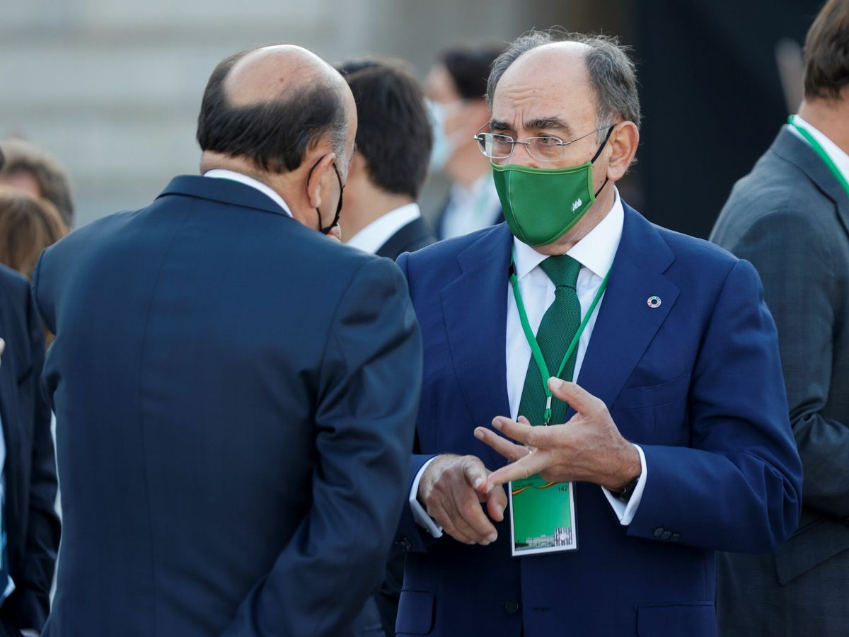 Foto: El presidente y consejero delegado de Iberdrola, Ignacio Sánchez Galán. (EFE)