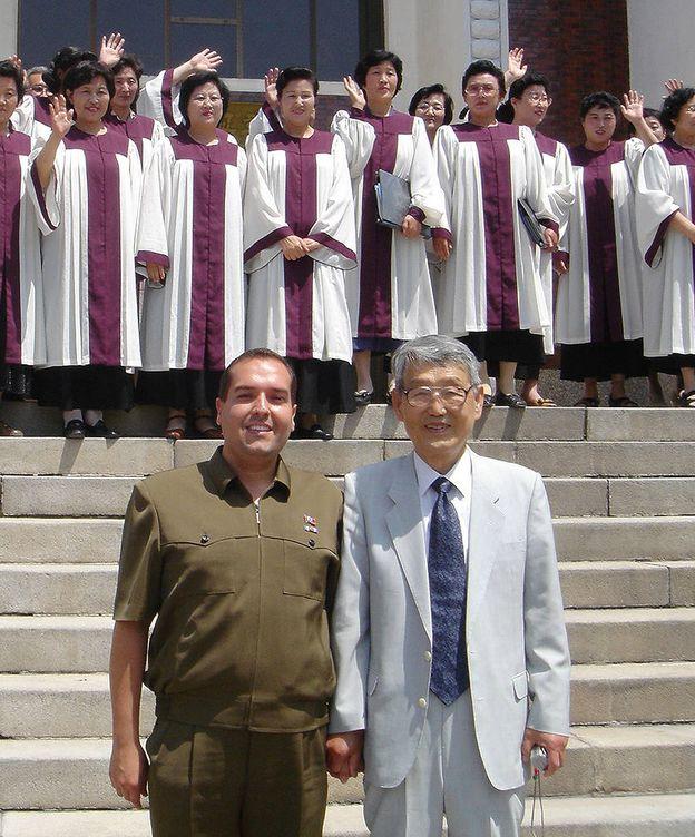 Foto: Cao de Benos en Corea del Norte