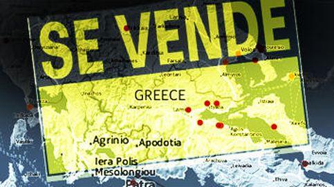 El mapa del expolio de Grecia, un país en venta