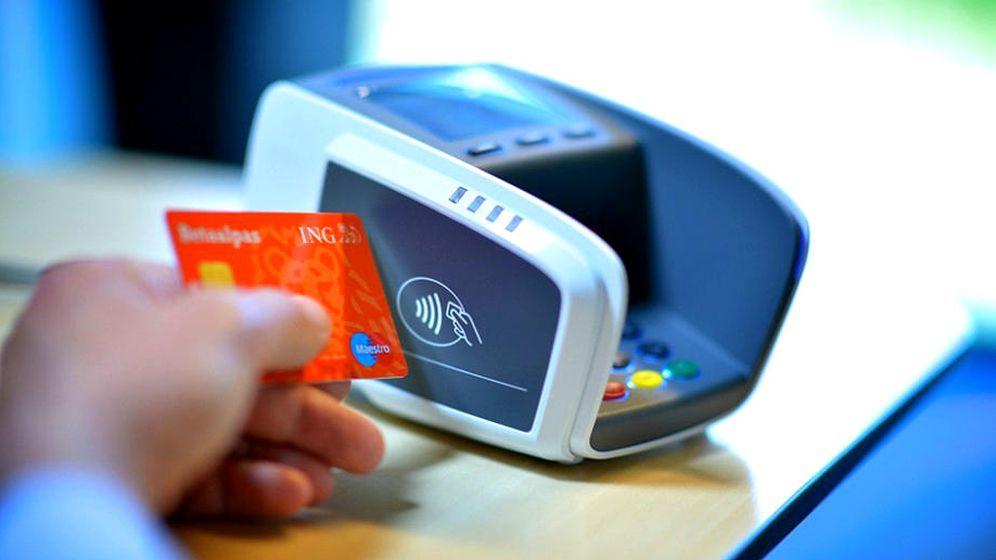 Foto: Una tarjeta de crédito 'contactless'.