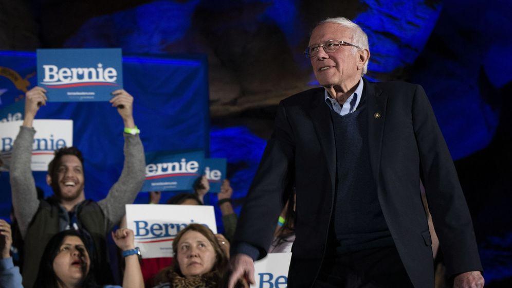 Foto: Bernie Sanders en un mitin en Nevada. (EFE)