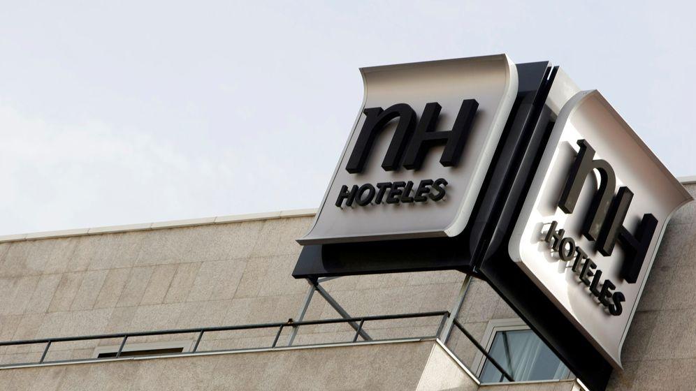 Foto: Logo de NH en un hotel de la cadena. (Reuters)
